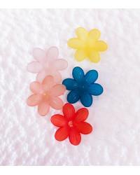 Fiore satinato a 6 petali