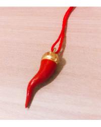 Cornetto Rosso in terracotta