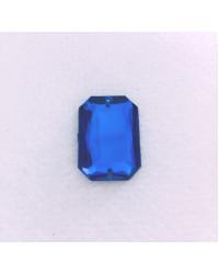Pietre sintetiche da cucire - Ottagono blu