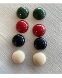 CABOCHON - diam.18 - colori uniti