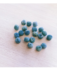 Tozzetti irregolari verde salvia - d. 8 mm - confez. 20 pz