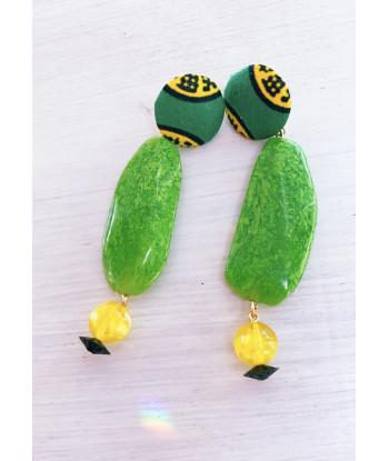 Kit orecchini Euforia Fuxia- verde- giallo
