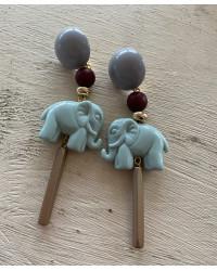 Kit Orecchini Elefanti maharaja'