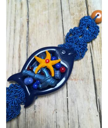 Kit Bracciali Pesce-Fibbia e virgolino Star