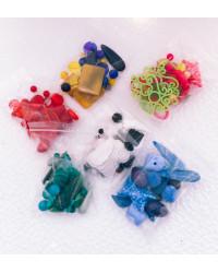 Mix Resine colori abbinati  in confezione convenienza