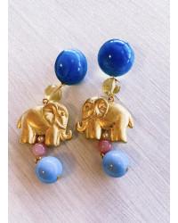 Orecchini Elefantini oro