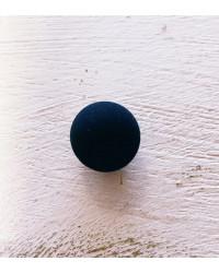 Sfera nero effetto velluto d. 16