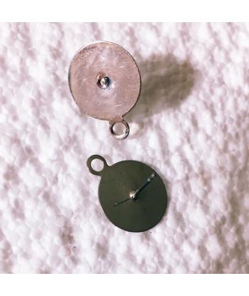 Piattini - base d.  1,4 cm misura media